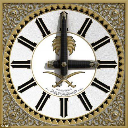 Chiêm ngưỡng đồng hồ 4 mặt lớn nhất thế giới tại Ả Rập 2