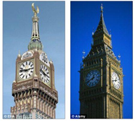 Chiêm ngưỡng đồng hồ 4 mặt lớn nhất thế giới tại Ả Rập 3