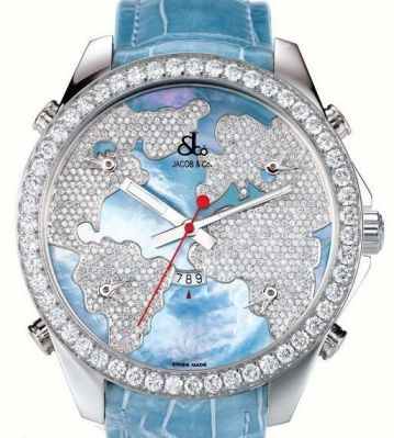 Các mẫu đồng hồ kim cương đắt giá nhất thế giới 1