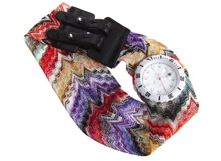 Đồng hồ làm bằng dây lụa của ToyWatch 1