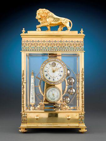 Đồng hồ cổ mạ vàng 1