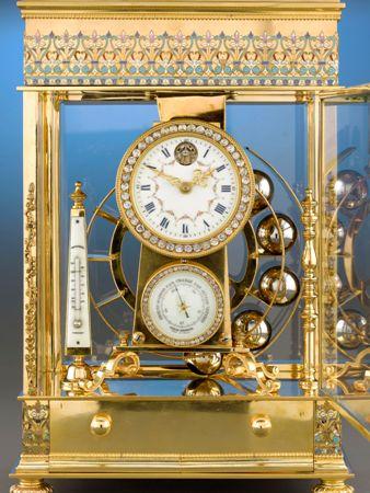 Đồng hồ cổ mạ vàng 3