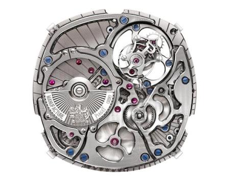 Chiêm ngưỡng đồng hồ Piaget Emperador Coussin Tourbillon 5